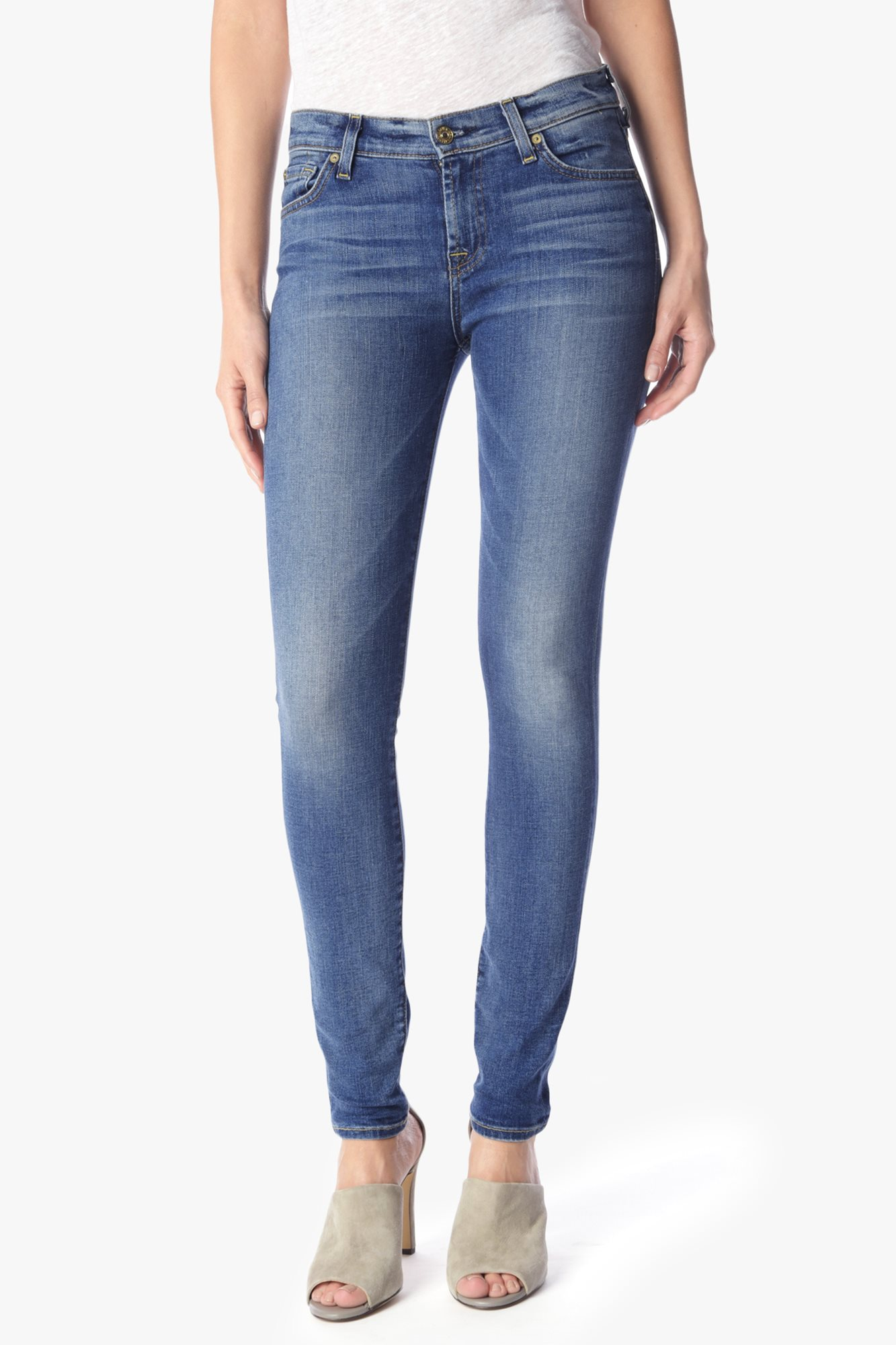 Womens Skinny Jeans 7 For All Mankind tOrqrd2T