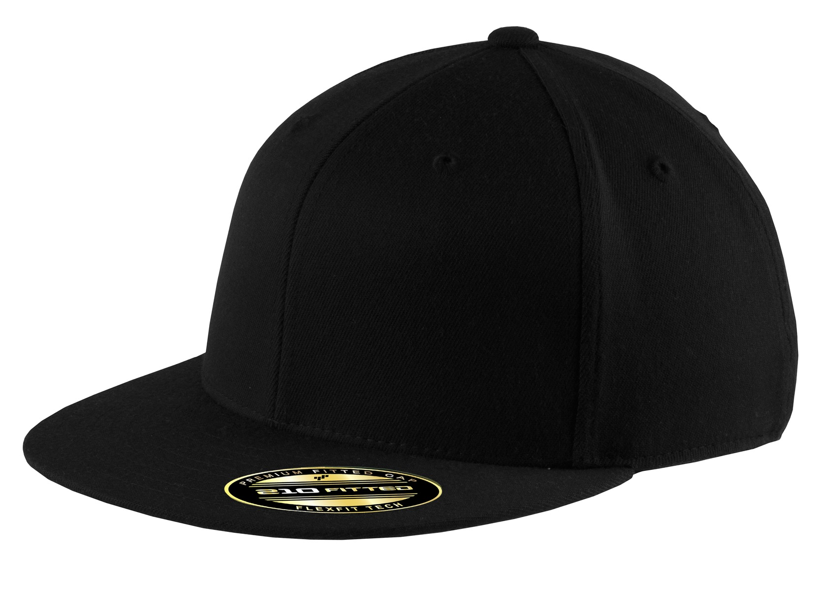 eaa9ea69f Port Authority Flexfit Flat Bill Cap