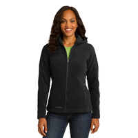 Eddie Bauer Ladies Hooded Full-Zip Fleece Jacket EB206