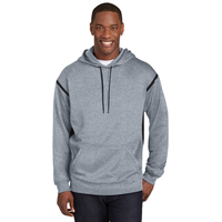 Sport-Tek Tech Fleece Colorblock Hooded Sweatshirt F246