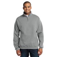 JERZEES - NuBlend; 1/4-Zip Cadet Collar Sweatshirt 995M