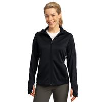 Sport-Tek Ladies Tech Fleece Full-Zip Hooded Jacket L248