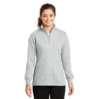 Sport-Tek Ladies 1/4-Zip Sweatshirt LST253