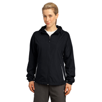 Sport-Tek Ladies Colorblock Hooded Raglan Jacket LST76