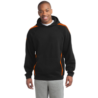 Sport-Tek Sleeve Stripe Pullover Hooded Sweatshirt ST265