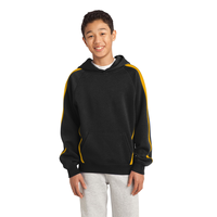 Sport-Tek Youth Sleeve Stripe Pullover Hooded Sweatshirt YS