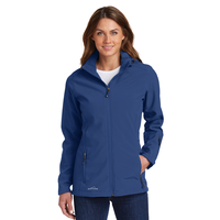 Eddie Bauer Ladies Hooded Soft Shell Parka EB537