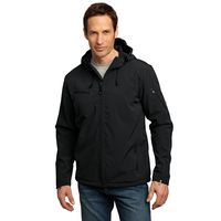 Port Authority Textured Hooded Soft Shell Jacket J706