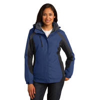 Port Authority Ladies Colorblock 3-in-1 Jacket L321