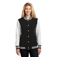 Sport-Tek Ladies Fleece Letterman Jacket LST270