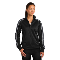 Sport-Tek Ladies Piped Tricot Track Jacket LST92
