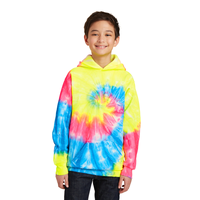 Port & Company Youth Tie-Dye Pullover Hooded Sweatshirt PC1