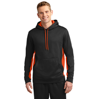 Sport-Tek Sport-Wick Fleece Colorblock Hooded Pullover ST23