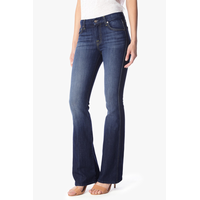 "7 For All Mankind Women's ""A"" Pocket Flare Jean in Nouveau New York Dark"