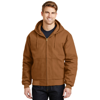 CornerStone - Duck Cloth Hooded Work Jacket  J763H