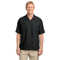 Port Authority Patterned Easy Care Camp Shirt S536