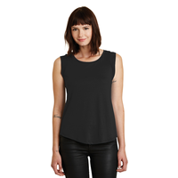 Alternative Cap Sleeve Satin Jersey Crew T-Shirt AA4013