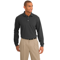 Port Authority Tall Rapid Dry Long Sleeve Polo TLK455LS