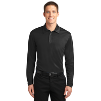 Port Authority Silk Touch Performance Long Sleeve Polo K540