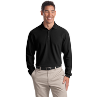 Port Authority Tall Long Sleeve EZCotton Pique Polo TLK800L