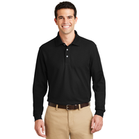 Port Authority Long Sleeve EZCotton Pique Polo K800LS