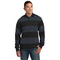 Sport-Tek Long Sleeve Rugby Polo ST300