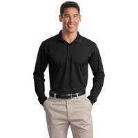 Sport-Tek Long Sleeve Micropique Sport-Wick Polo ST657