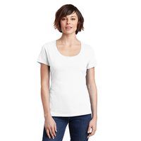 District Made Ladies Perfect Weight Scoop Tee DM106L