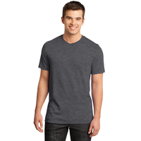 District - Young Mens Gravel 50/50 Notch Crew Tee DT1400