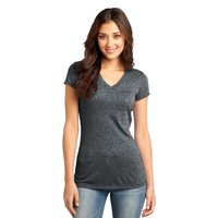 District - Juniors Microburn V-Neck Tee DT261