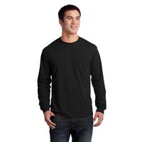Gildan - Ultra Cotton 100% Cotton Long Sleeve T-Shirt with P