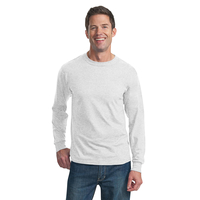 Fruit of the Loom HD Cotton 100% Cotton Long Sleeve T-Shirt