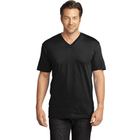 District Made Mens Perfect Weight V-Neck Tee DT1170