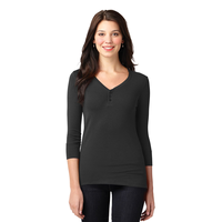 Port Authority Ladies Concept Stretch 3/4-Sleeve Scoop Henle