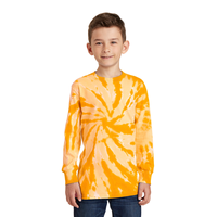 Port & Company Youth Tie-Dye Long Sleeve Tee  PC147YLS