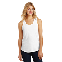District Made Ladies Perfect Tri Racerback Tank DM138L