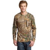 Russell Outdoors Realtree Long Sleeve Explorer 100% Cotton T
