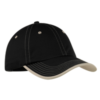 Port Authority Vintage Washed Contrast Stitch Cap  C835