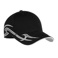 Port Authority Racing Cap with Sickle Flames  C878