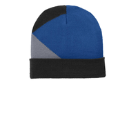 Port Authority Cuffed Colorblock Beanie C906