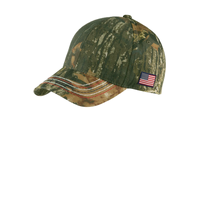 Port Authority Americana Contrast Stitch Camouflage Cap C90