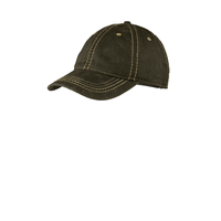 Port Authority Pigment Print Distressed Cap C924