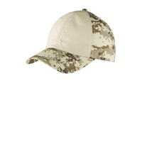 Port Authority Colorblock Digital Ripstop Camouflage Cap C9