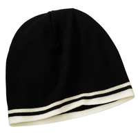 Port & Company - Fine Knit Skull Cap with Stripes   CP93