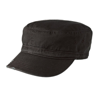 District - Distressed Military Hat  DT605