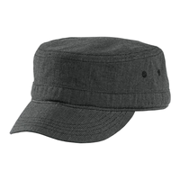 District - Houndstooth Military Hat DT619