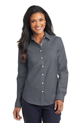 Port Authority Ladies SuperPro Oxford Shirt L658
